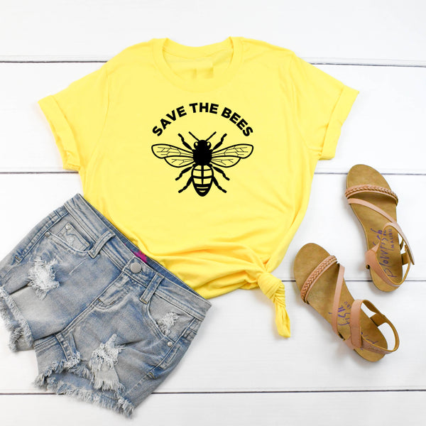 Save The Bees Unisex Tri-Blend Jersey Tee Small - 4XL