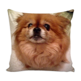 "FTLA Apparel ~ For The Love of Animals Apparel:  Pillows - CUSTOM PET PILLOW 16"" x 16"""