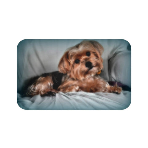 FTLA Apparel ~ For The Love of Animals Apparel:  Home Decor - Custom Pet Bath Mat / Pet Mat