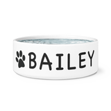 FTLA Apparel ~ For The Love of Animals Apparel:  Dog Bowls - DOG BOWL - BAILEY