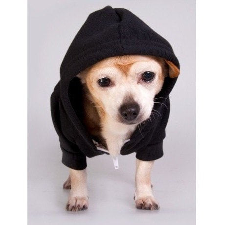 FTLA Apparel - Beagle Freedom Project FTLA Apparel– Flex Fleece Dog Zip Hoodie XS-2XL - Bfp Logo-Doggy Clothes-For The Love of Animals Apparel