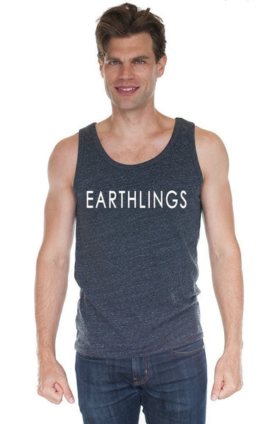 FTLA Apparel EARTHLINGS Unisex Triblend Tank Top MAKE THE CONNECTION-Unisex Tank Top-FTLA Apparel-SM-For The Love of Animals Apparel