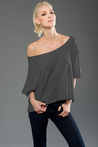 FTLA Apparel ~ For The Love of Animals Apparel:  Off The Shoulder Pullover - FTLA Apparel - eco-HYBRID™ Micro Jersey Wide Off The Shoulder Top - Choose From My Designs or Choose Blank