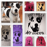 FTLA Apparel ~ For The Love of Animals Apparel:  Tank Top - FTLA Apparel Eco Jersey Racerback Tank Don't Bully My Breed