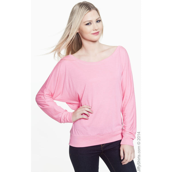 FTLA Apparel - FTLA Apparel Off The Shoulder Flowy Pullover - Co-Exist XS-2XL-Off The Shoulder Pullover-For The Love of Animals Apparel