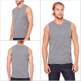 FTLA Apparel ~ For The Love of Animals Apparel:  Muscle Tank - Men's Muscle Tank Top - #CrueltyFree