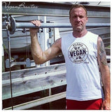FTLA Apparel ~ For The Love of Animals Apparel:  Muscle Tank - Men's & Unisex Muscle Tank - Vegan Plant Protein