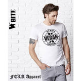 FTLA Apparel ~ For The Love of Animals Apparel:  Unisex T-Shirt - Men's/Unisex Jersey Short Sleeve Tee VEGAN | Vegan Plant Protein