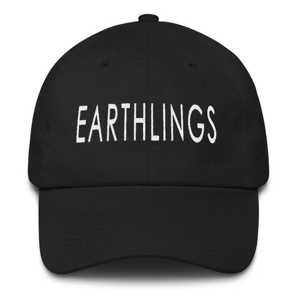 FTLA Apparel Official EARTHLINGS 6 Panel Low Profile Embroidered Baseball Cap-Hats-FTLA Apparel-For The Love of Animals Apparel