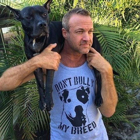 FTLA Apparel ~ For The Love of Animals Apparel:  Unisex Tank Top - Unisex 100% Cotton Unisex Jersey Tank - Don't Bully My Breed - XS-2XL