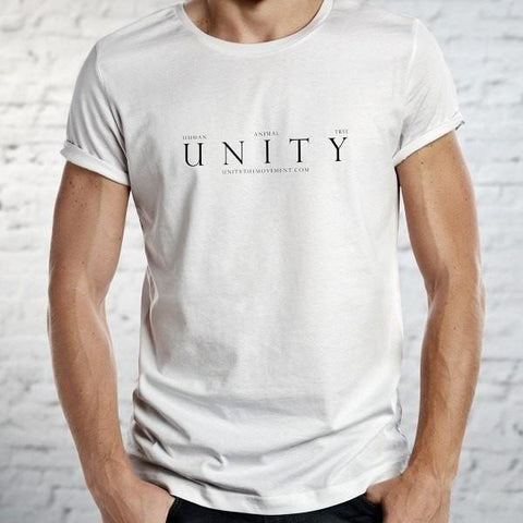 FTLA Apparel ~ For The Love of Animals Apparel:  Unisex T-Shirt - UNITY The Movement Unisex Jersey Short Sleeve Tee - UNITY - NOT THE SAME BUT EQUAL