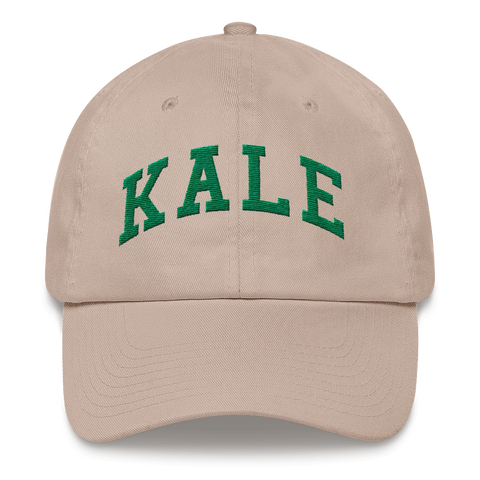 FTLA Apparel ~ For The Love of Animals Apparel:  Hats - KALE Embroidered Baseball Cap