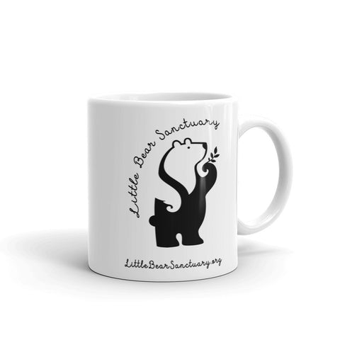 FTLA Apparel ~ For The Love of Animals Apparel:  Mug - Little Bear Sanctuary Ceramic Mug