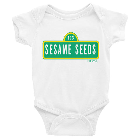 SESAME SEEDS Infant Onesie