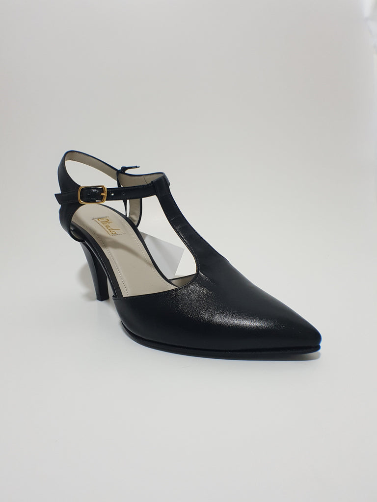 Black TStrap Shoe