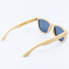 natural bamboo wayfarer wood sunglasses
