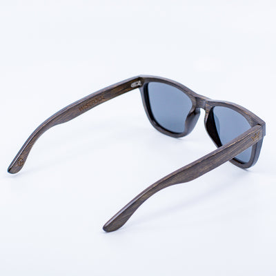 brown bamboo wayfarer wood sunglasses