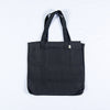black hemp tote bag