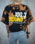 100.3 The Sound black bleach dyed crop top