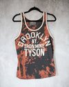 Brooklyn boxing bleach dye tank top