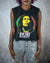 Rasta sleeveless crop top