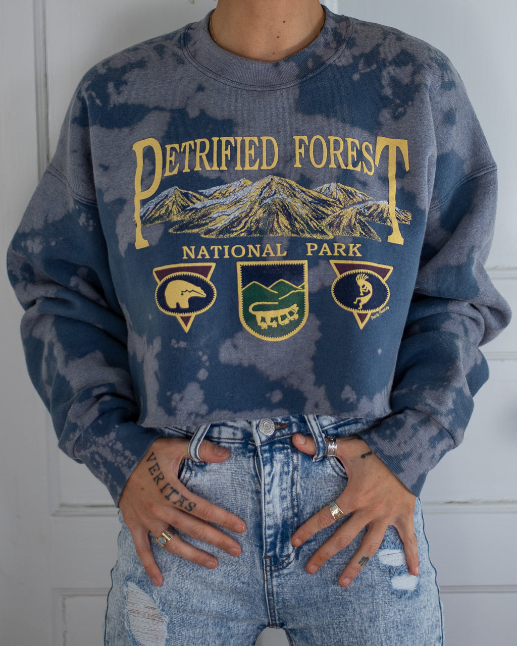 Petrified Forest bleach dye crop crew