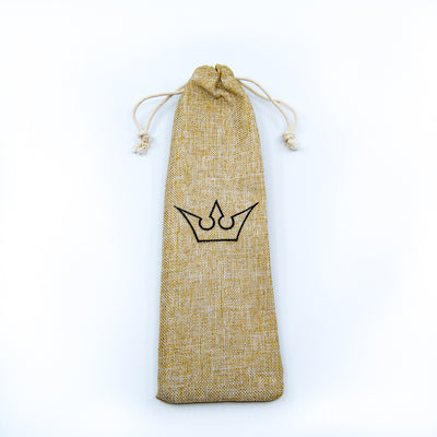 natural jute carrying pouch