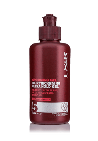 Lock Stock & Barrel, Hair Thickening Ultra Hold Gel #5 (150ml)