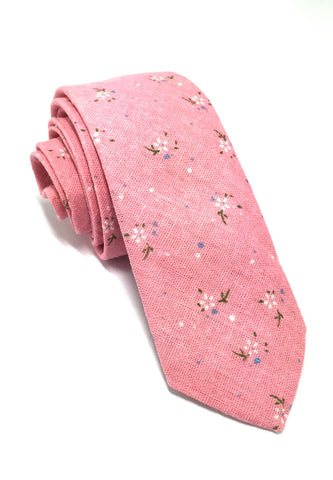 Cottage Series Pink Cotton Tie