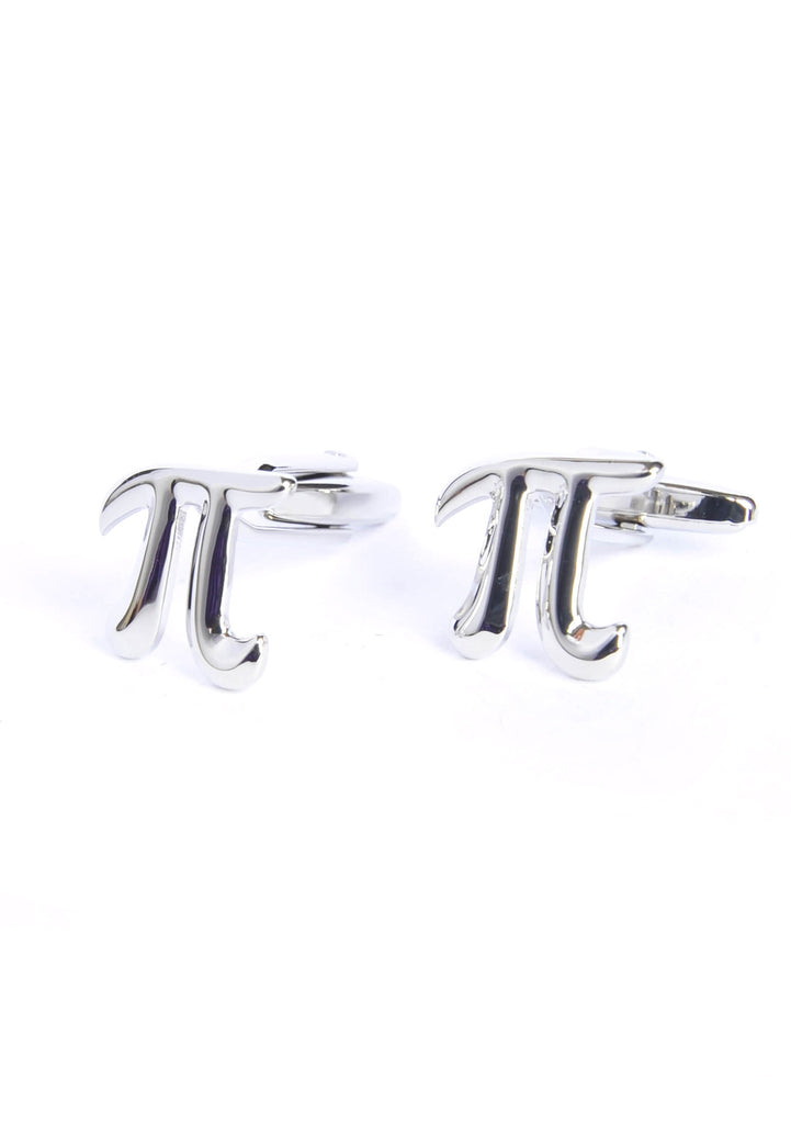 Pi Cufflinks for a maths expert!