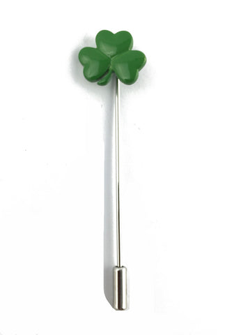 Lucky Clover Lapel Pin