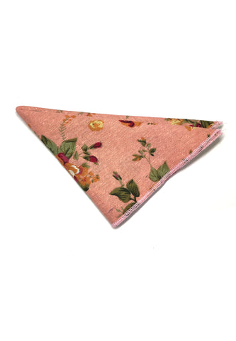 Blossom Series Floral Design Pink Pocket Square