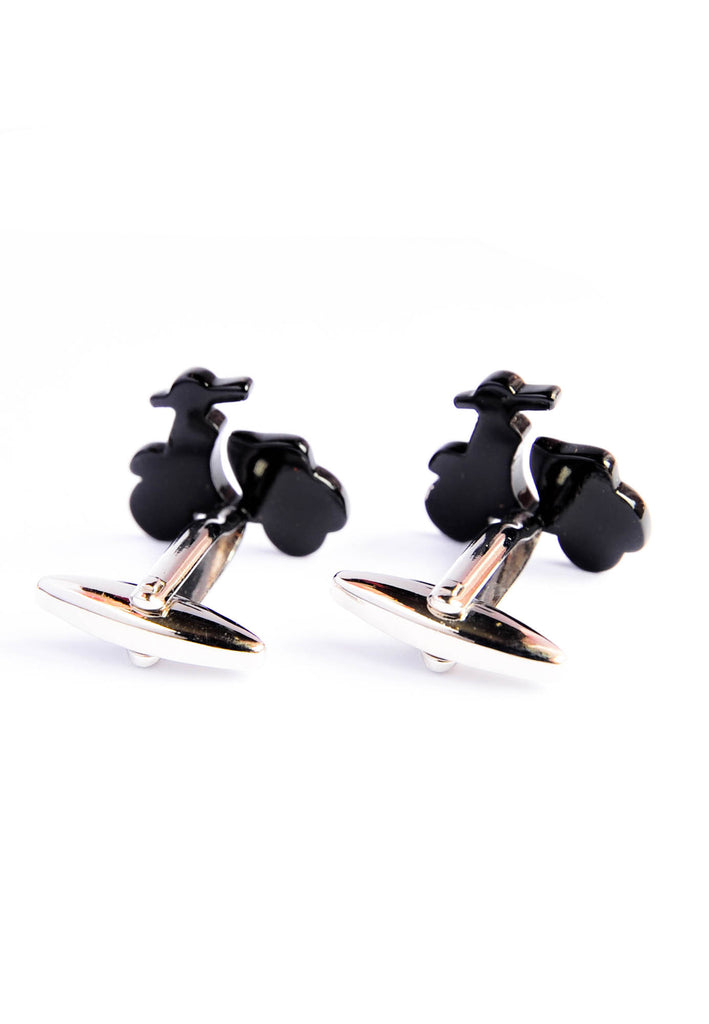 Scooter Cufflinks - Black
