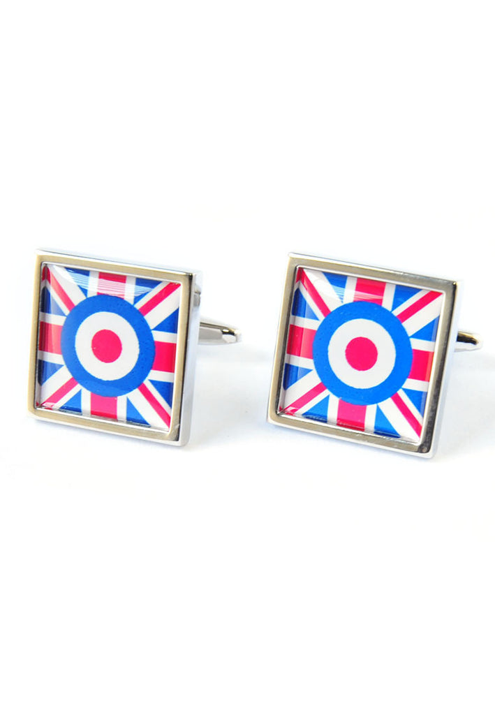 Square Union Jack with Feature Roundel Theme