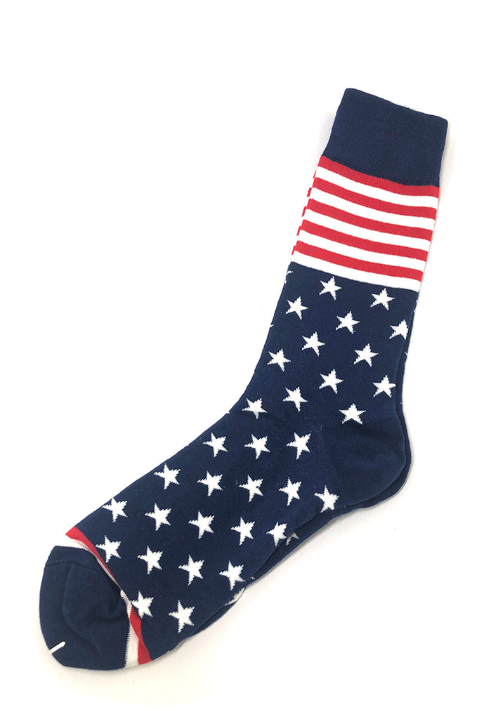 Tron Series USA Flag Patterned Socks