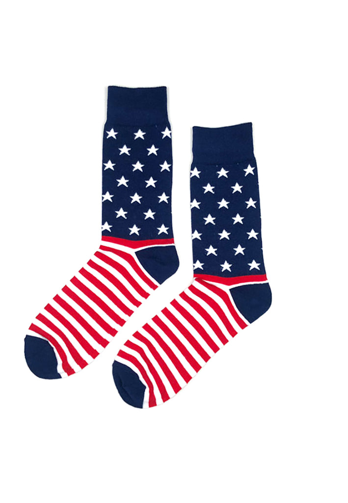 Tron Series USA Flag Patterned Socks 2