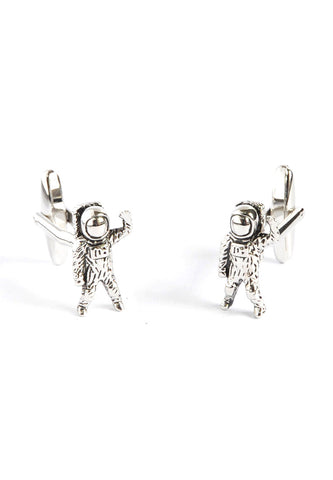 Astronaut Spaceman pair Cufflinks