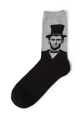 Illustrious Series Abraham Lincoln Socks