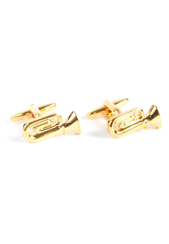 Brass Band Tuba Cufflinks