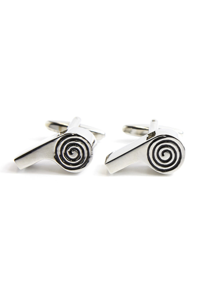 Real working Whistles Cufflinks