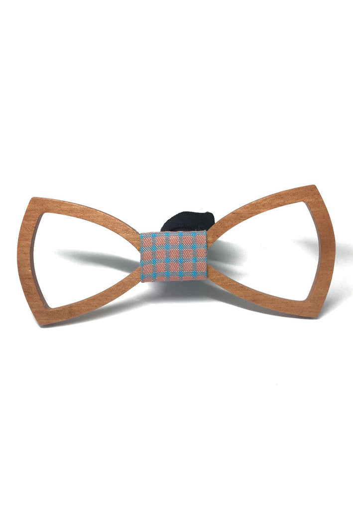 Hollow Grove Series Maple Wood Colour Bow Tie