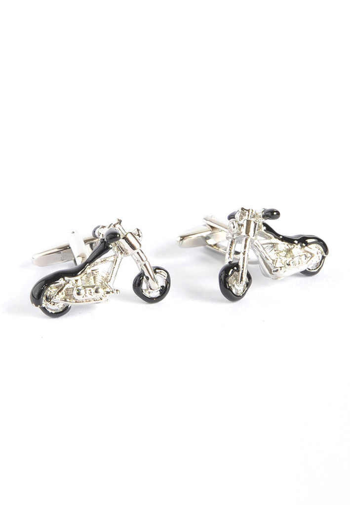 Chopper Motorbike Cufflinks