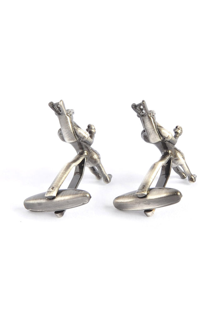 Egyptian God Horus Antique Finish Cufflinks