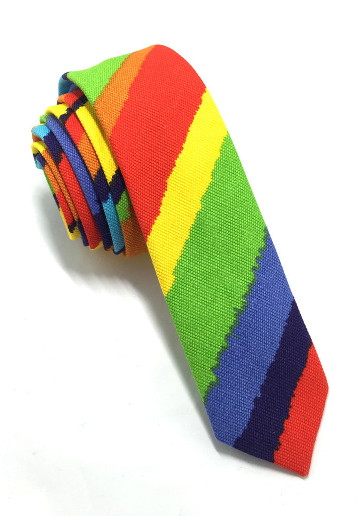 Potpurri Series Rainbow Cotton Tie