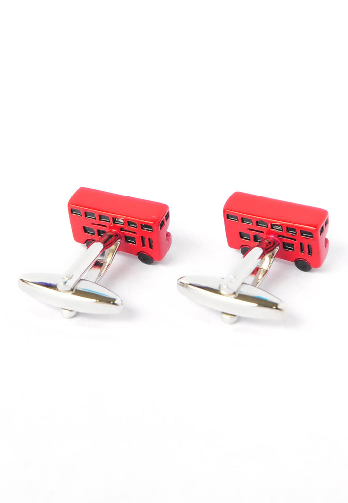 London Red Bus Cufflinks