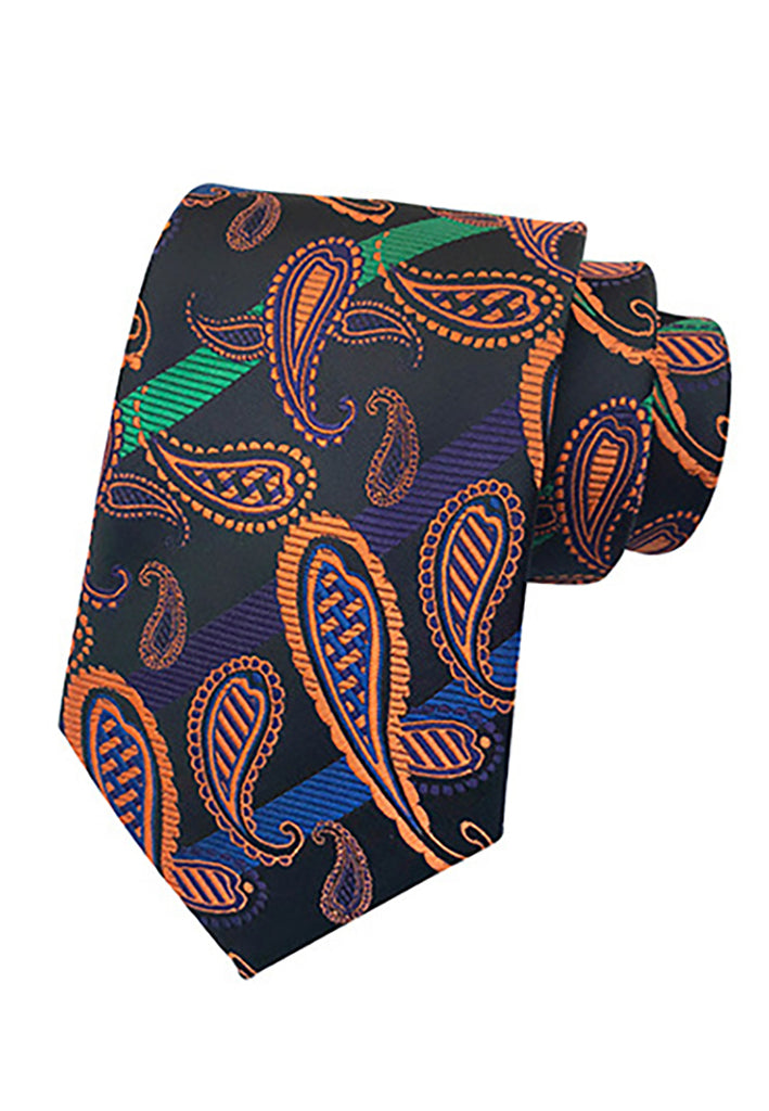 Medley Series Paisley Design Multicolor Neck Tie