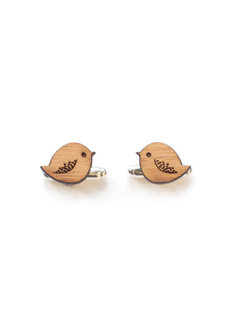 Handmade Birdies Cufflinks