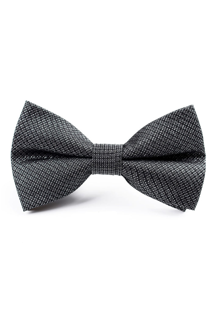 Tony Series Polyester Grey Bow Tie