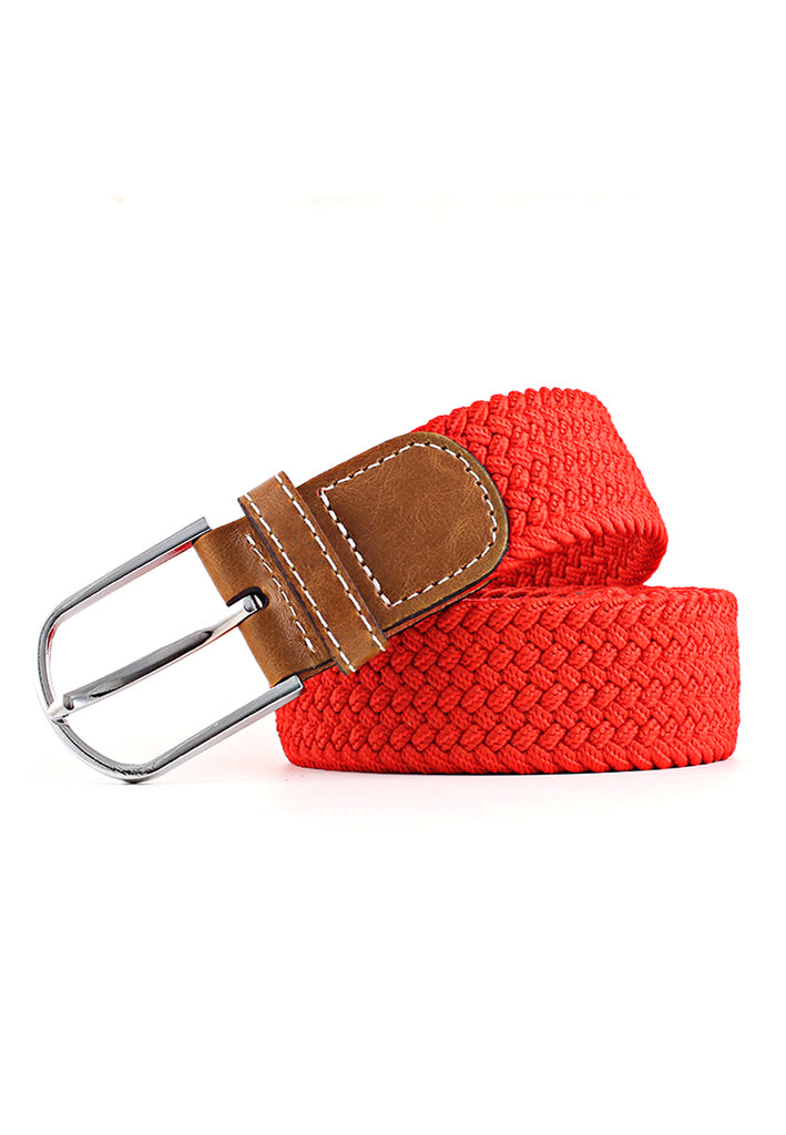 Entwine Series Red Braided Belts