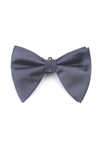 Farfalla Series Grey Bow Tie